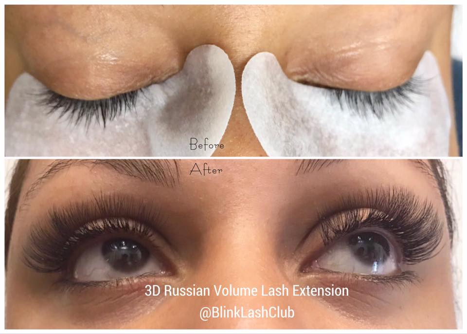 3d Russian Volume Eyelash Extension Blink Lash Club