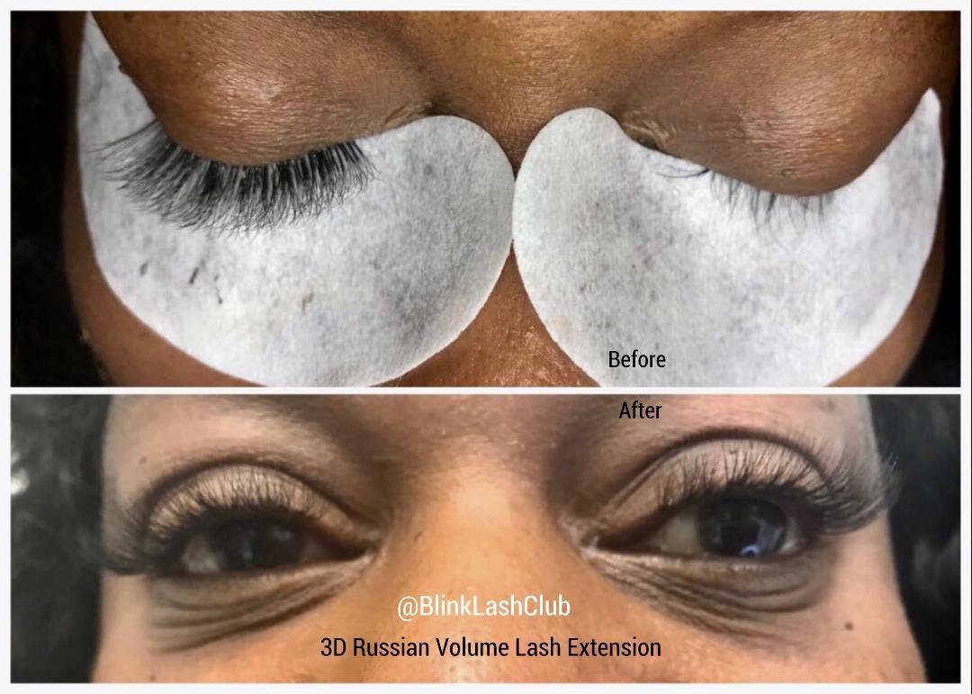 1b6d2a6b279 3D Russian Volume Lash Extension - Blink Lash Club